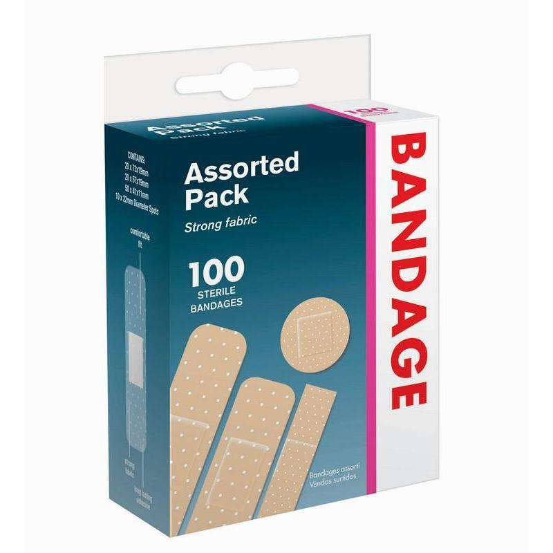 Bandages Assorted Pack