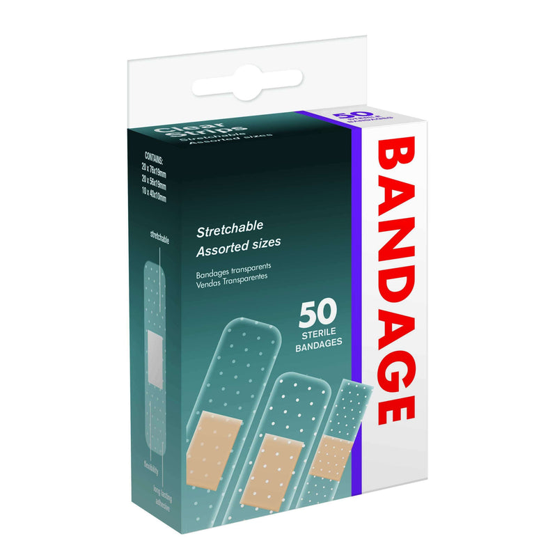 Bandages Clear Assorted Pack
