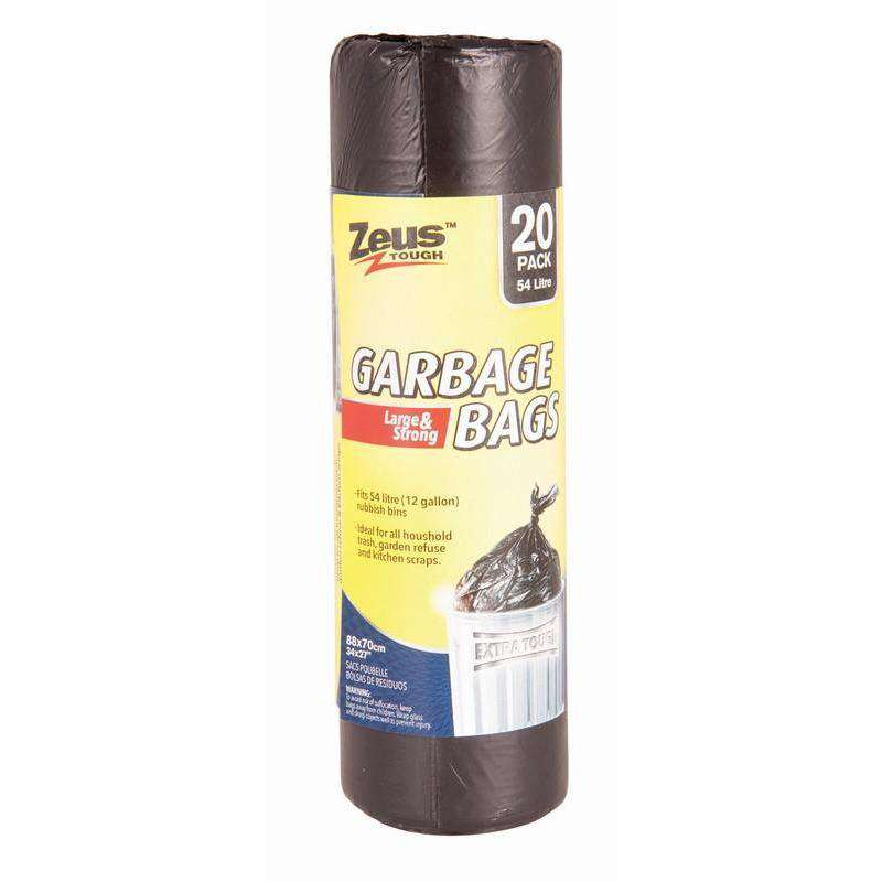 Garbage Bags Heavy Duty 54L