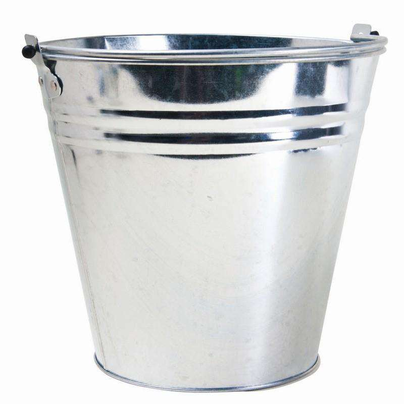 Bucket Galvanized 10L