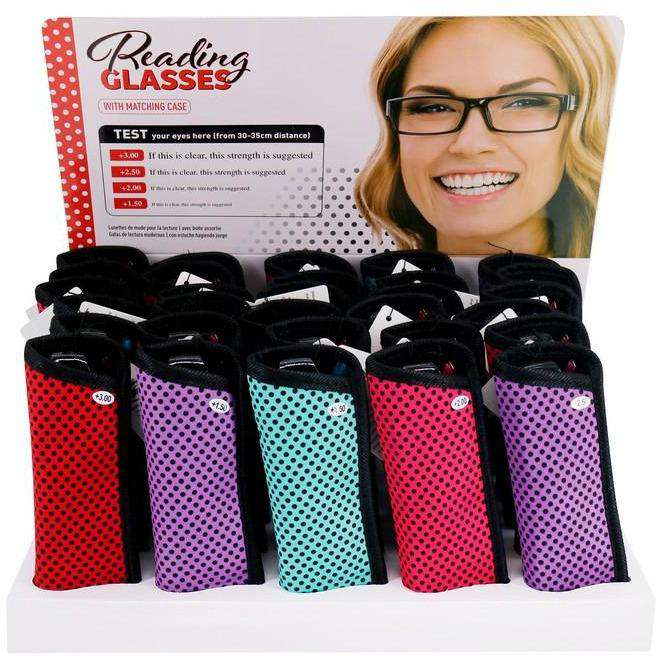 Reading Glasses Ladies with Case