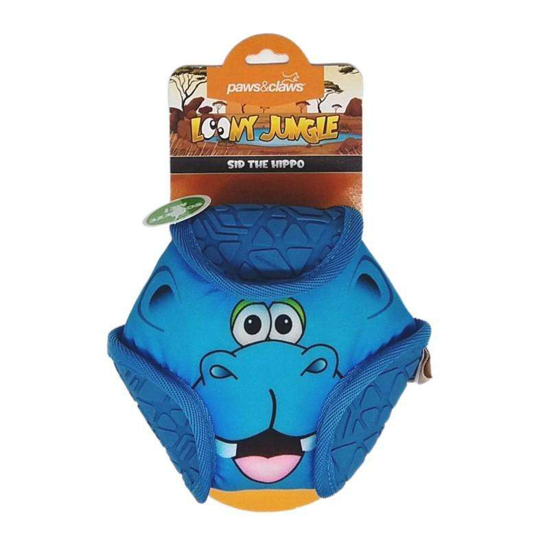 Pet Toy Loony Jungle Hippo 15cm