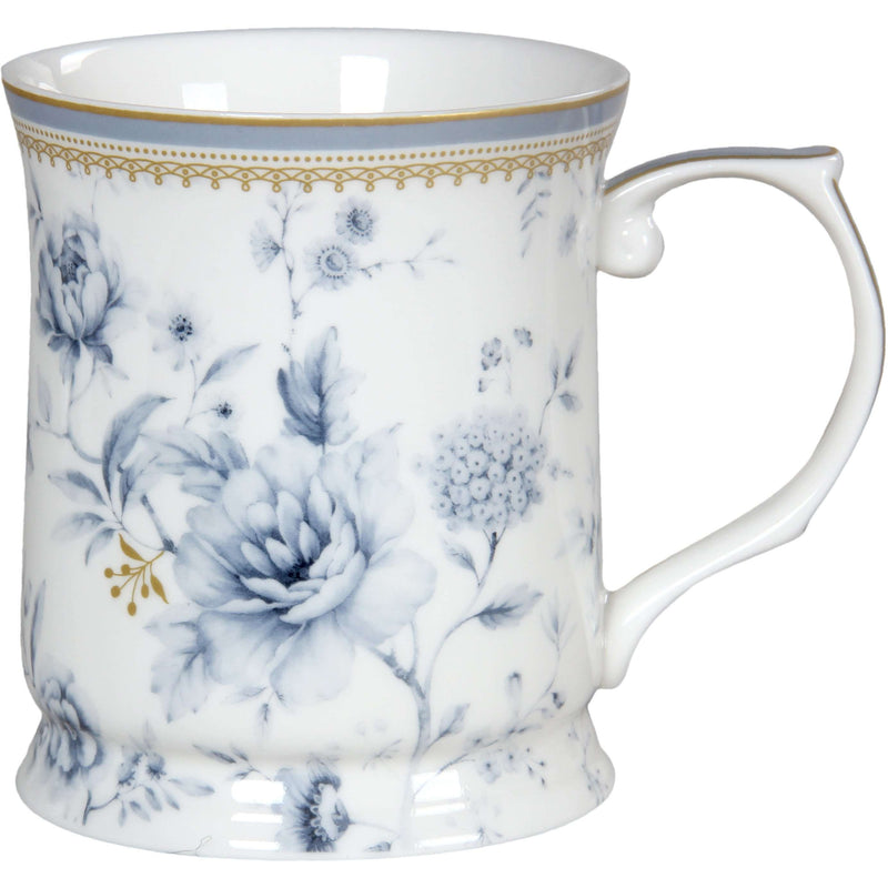 Fine Bone China Blue Meadows Mug