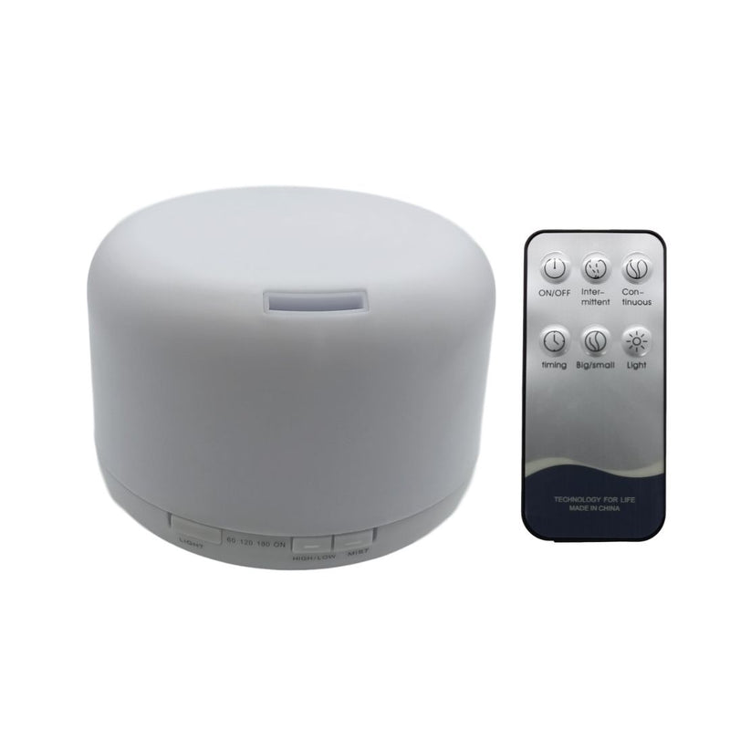 Ultrasonic Led Aroma Humidifier with Remote