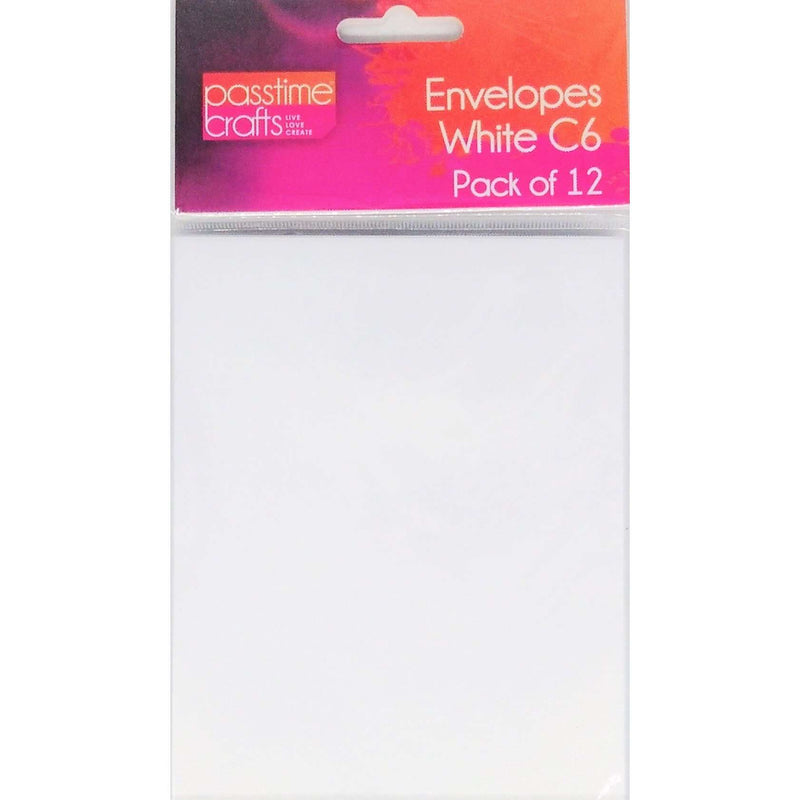 Buy onilne Mont Marte C6 White Envelopes 12 Pack | Dollars and Sense cheap and low prices in australia