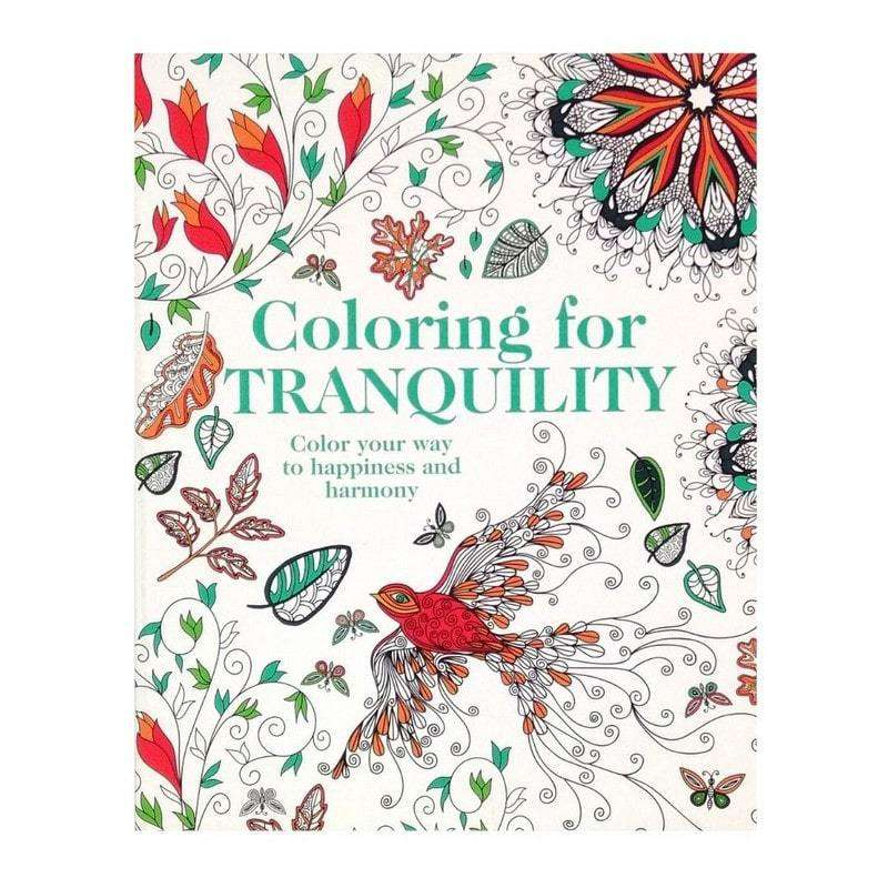 Colour in Book Traquility
