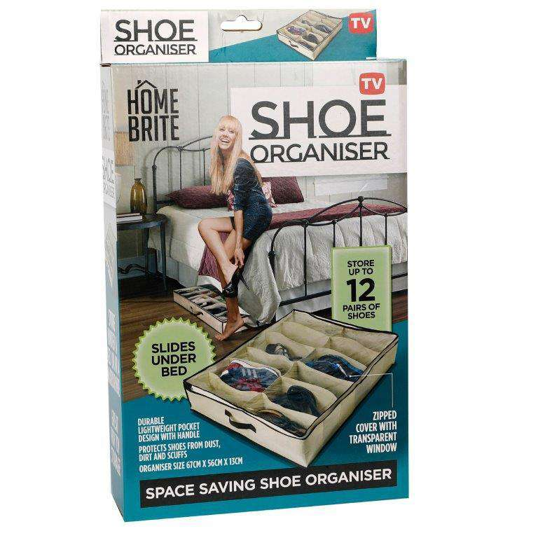 Under Bed Shoe Organiser