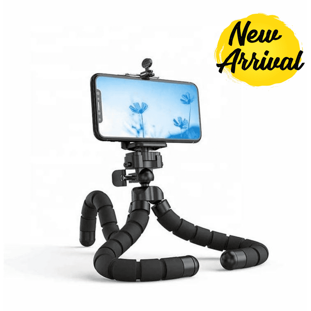 Flexible Smartphone Tripod with Remote Shutter