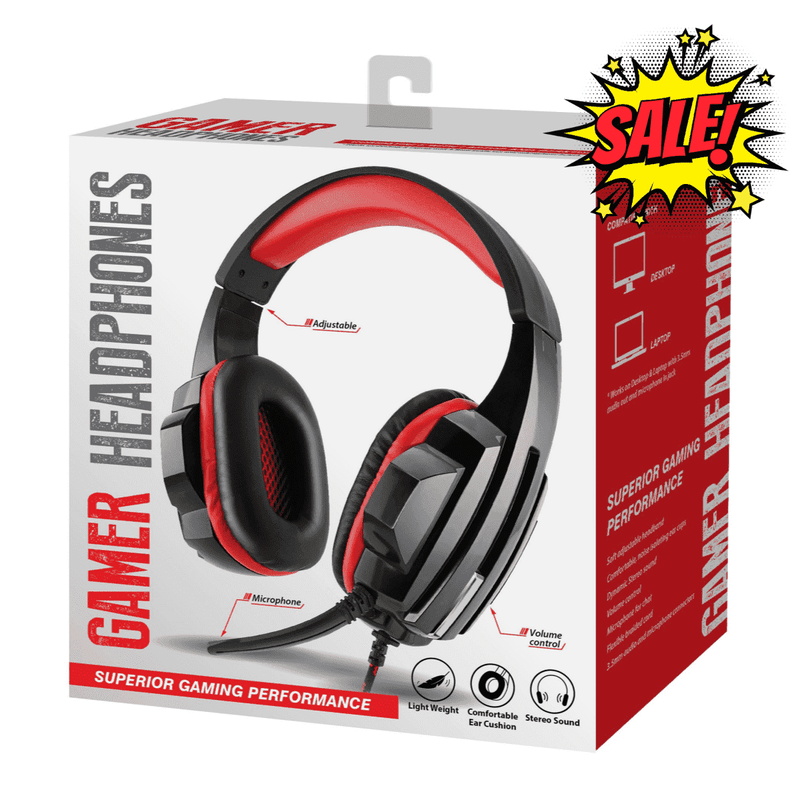 Corded Gaming Headphones