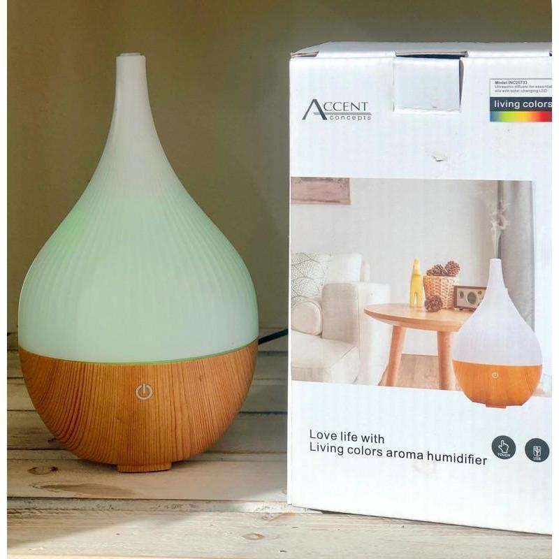 Humidifier with Colour changing LED