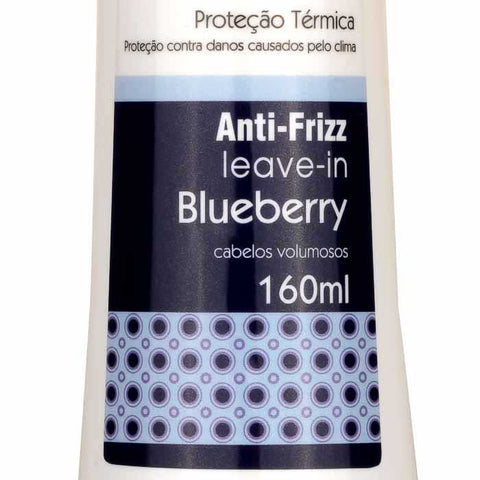 Leave-in Blueberry Fruit Therapy Nano 160ml Cabelo Volumoso