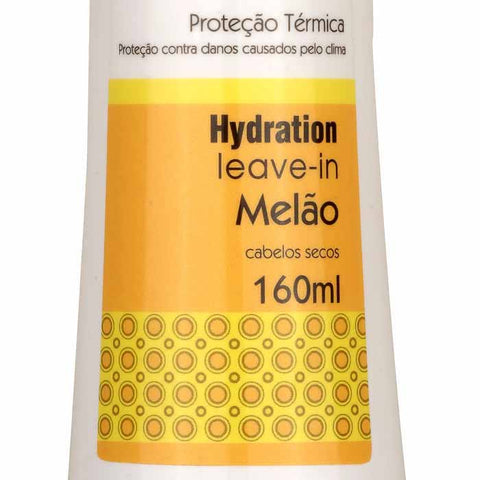 Leave-in Melão Fruit Therapy Nano 160ml Cabelo Seco ou Ressecado