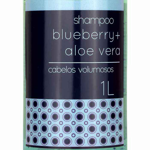 Shampoo Blueberry e Aloe Vera Fruit Therapy Nano 1L Cabelo Volumoso