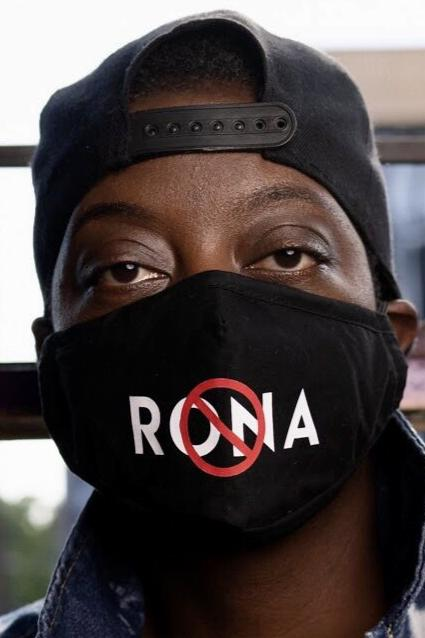 *Clearance* NO 🚫 RONA Reusable Black Face Mask
