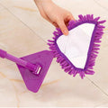 180 Degree Rotatable Adjustable Triangle Cleaning Mop