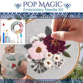 Pop Magic Embroidery Needle Kit