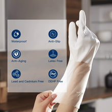 Load image into Gallery viewer, WG01丨 PVC Household Gloves, Semi-Transparent Cuff Designed, One Pair