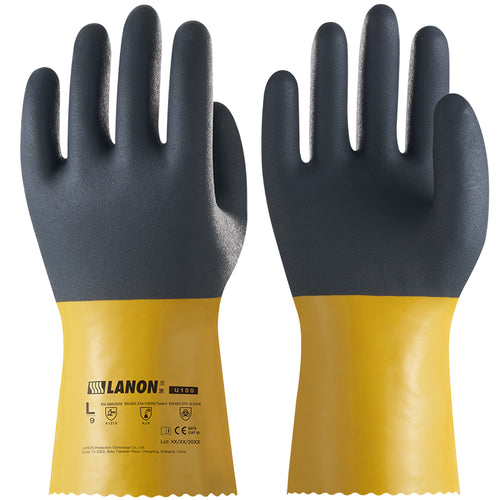 U100 丨 PVC Oil Resistant Gloves