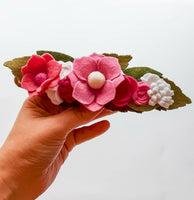 Pretty In Pink Deluxe Wildflower Crown