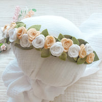 Elegant Rose Flower Crown