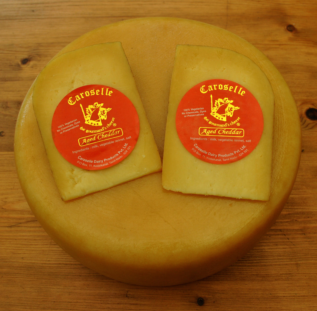 AGED CHEDDAR (AVAILABLE FOR PICK UP ONLY)