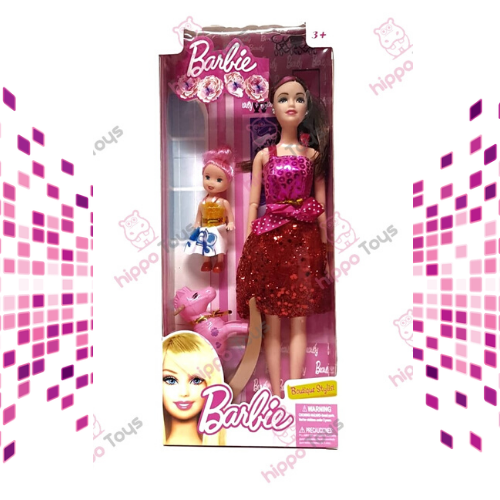 Barbie con Caballito y Kelly