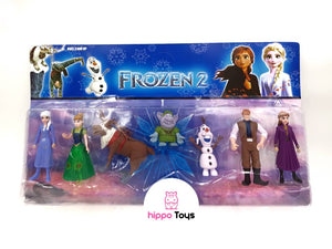 Figuras Frozen Set x 7