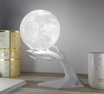 Moon Lamp & Essential Oil Humidifier - HadyaTrends