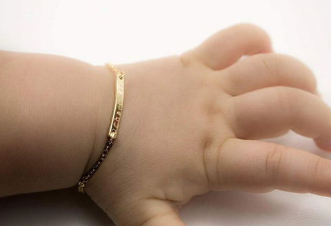 Personalized Baby Bracelet - HadyaTrends