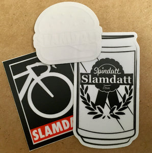Beers, Burgers, Bars: Slam Em (Sticker Pack)