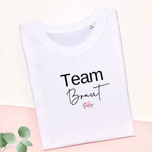 Damen I Shirt I Team Braut I Name