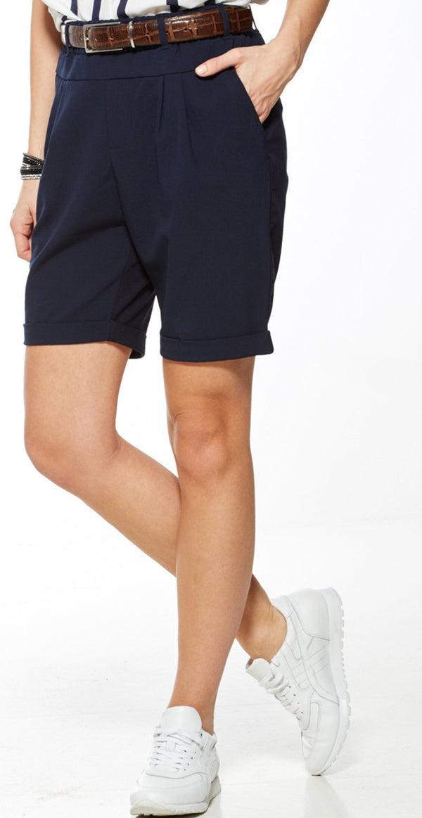 NAVY JILLIAN BERMUDA SHORTS (4502393552977)