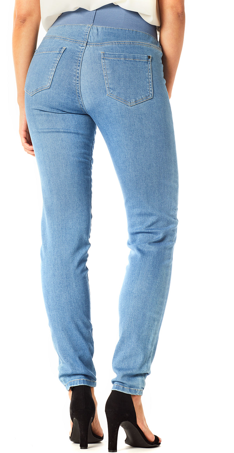 Lys denim recycled shantal stretch buks (4502644392017)