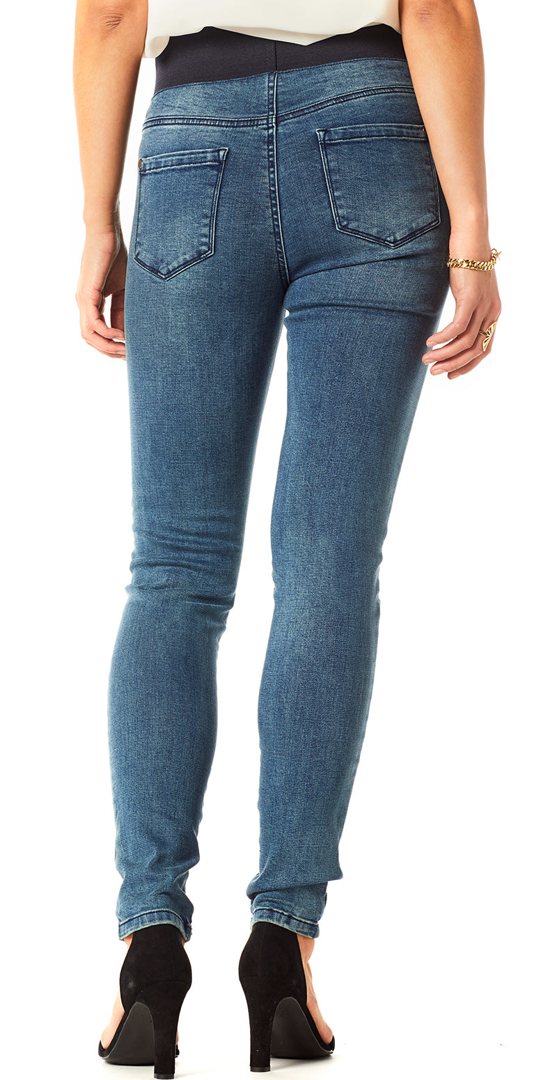 Navy denim shantal stretch buks (4502591111249)