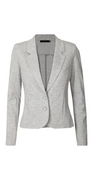 Light grey melange Nanni blazer