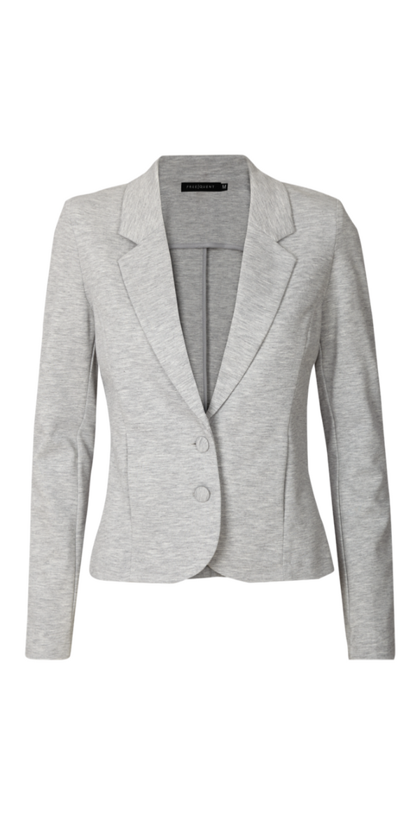 Light grey melange Nanni blazer (4502581084241)