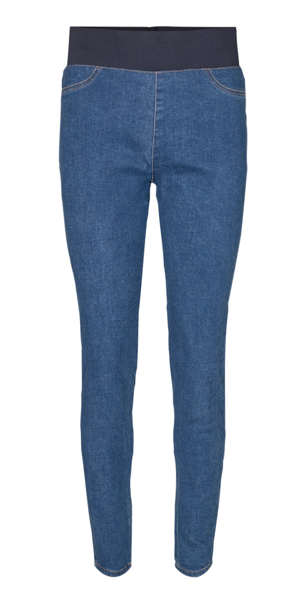 Medium blue denim recycled Shantal buks