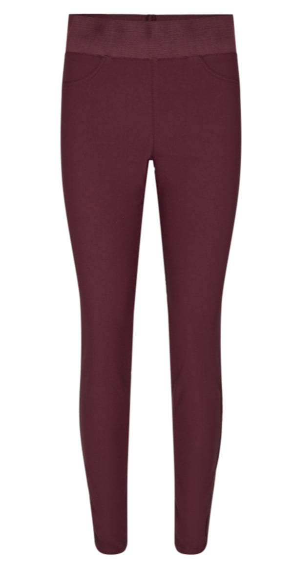 Fig/bordeaux shantal stretch buks