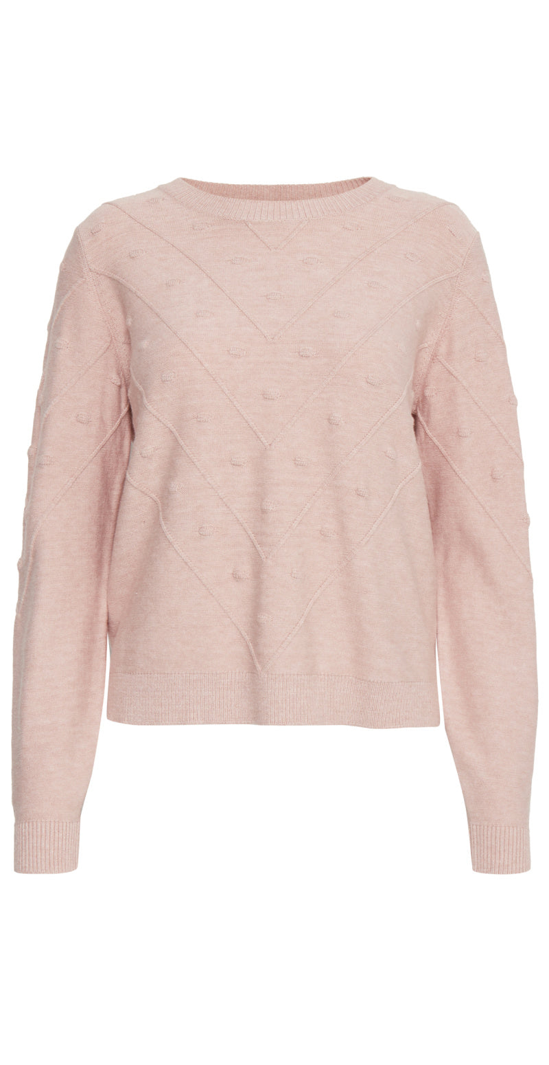 Warm rose strik med bomber