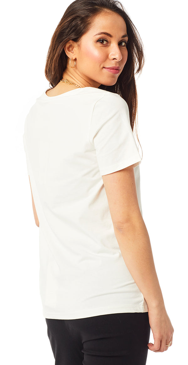 Offwhite basic t-shirt