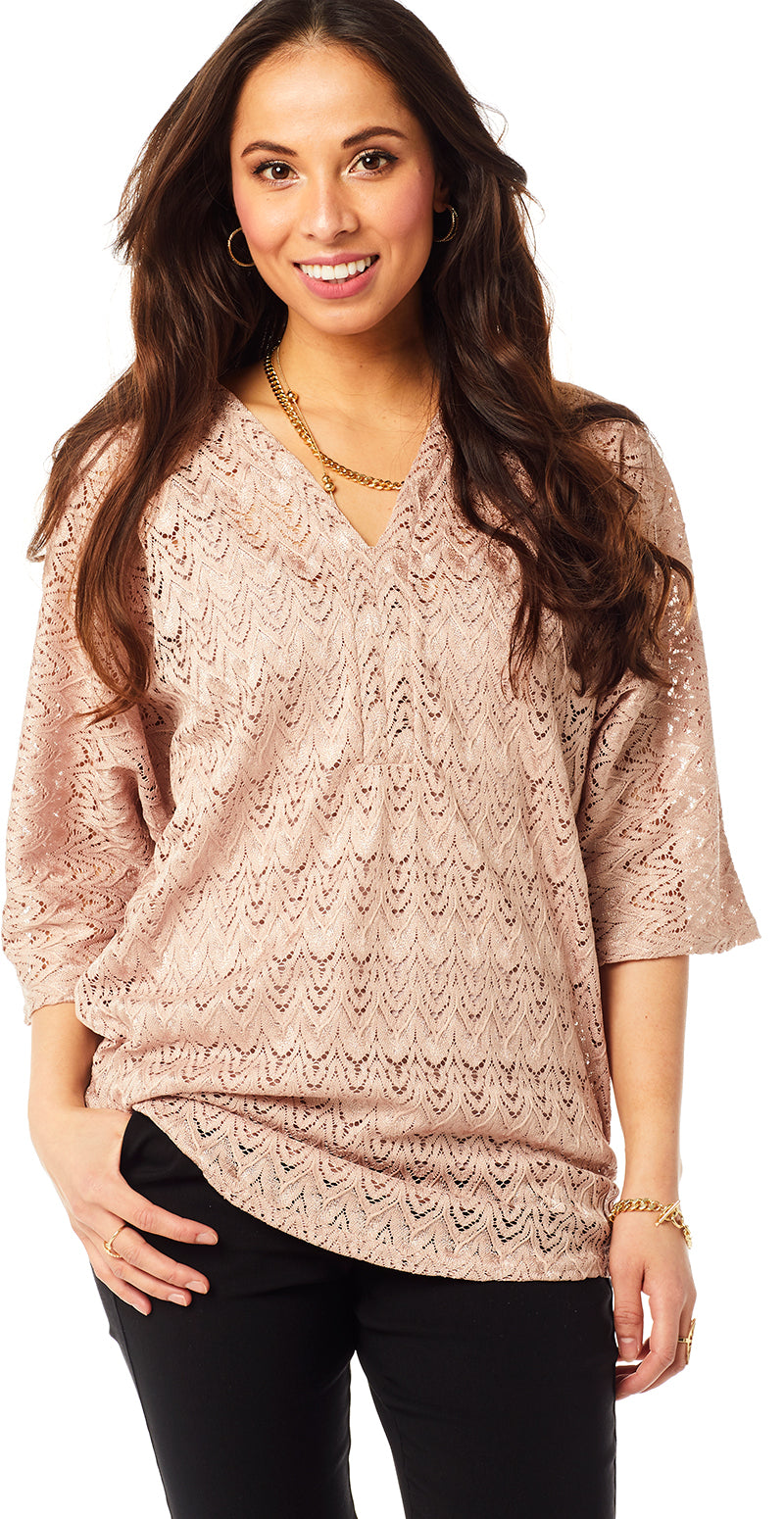 Rosa blonde bluse