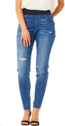 Navy denim Shantal broken ankel buks