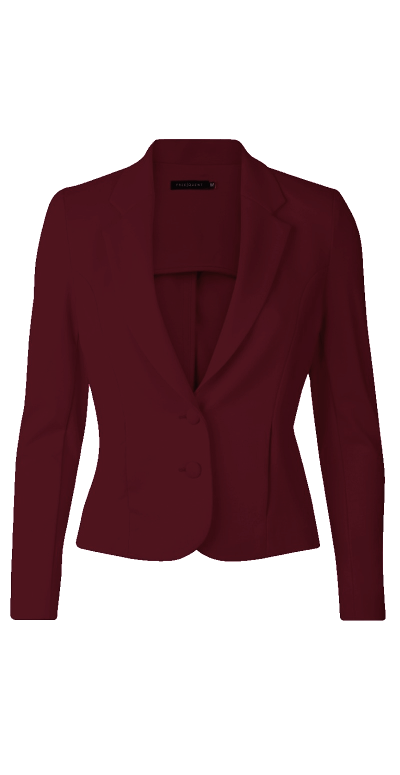 Wine red Nanni blazer (4502777823313)