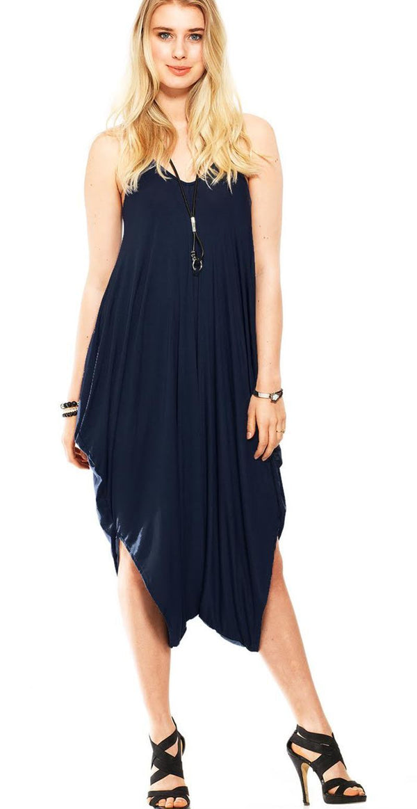 NAVY LUXUS KJOLEJUMPSUIT NO 50 (4502557098065)