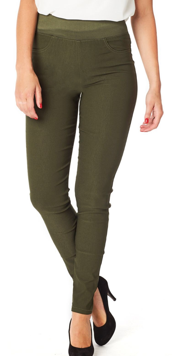 Olive night shantal stretch buks (4502605660241)