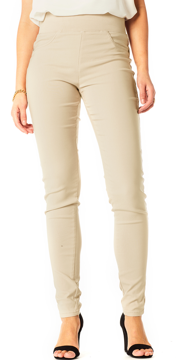 Simply taupe shantal stretch buks (4502698983505)