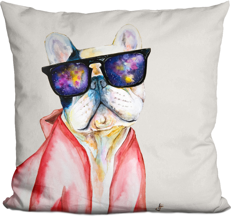 Manny and the Sky of Diamonds Pillow