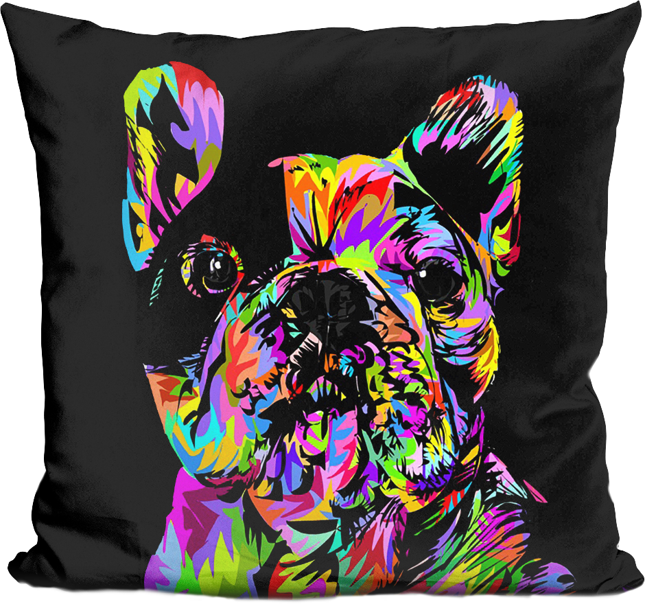 Portrait Ablaze Manny Pillow