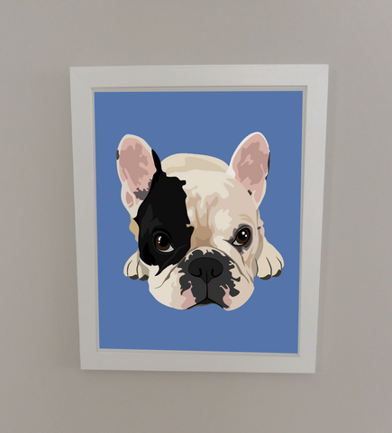 "MANNY'S PUPPY EYES PRINT – 8""X10"""