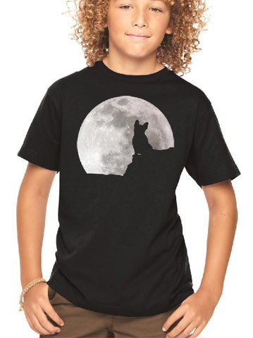 Manny Howls at the Moon (Youth/Child sizes)